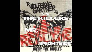 The Killers vs. Wolfgang Gartner - Mr. Red Line Brightside (Johnny Mac Bootleg) **FREE DOWNLOAD**