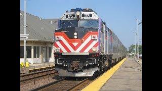 Metra 175 Geneva & LaFox, Illinois 7-27-19
