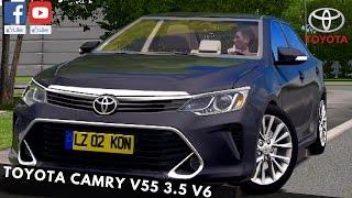 City Car Driving - Toyota Camry v55 3.5L V6 2015 DAY DRVIE | + Download [LINK] | 1080p & 60FPS