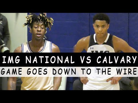 IMG Academy vs. Calvary Christian was a Thriller! Game Goes Down to The Wire at Sunbash????