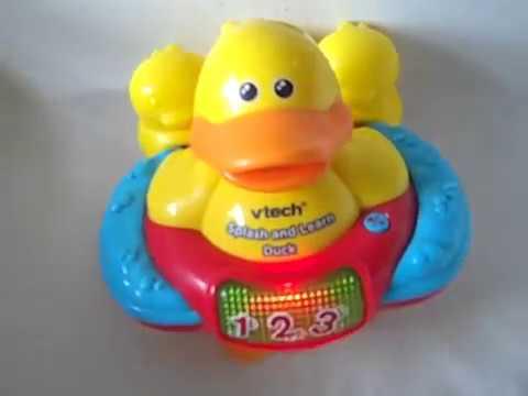 Vtech splash and learn duck