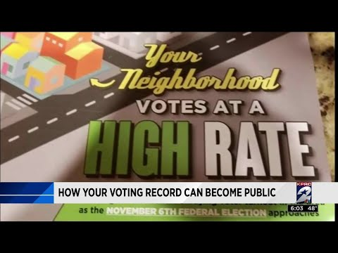 How your voting record can become public