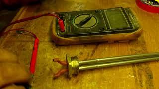 Установка тенов в батареи отопления