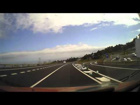 Schnellstrasse auf Teneriffa von El Tanque nach Icod de los Vinos