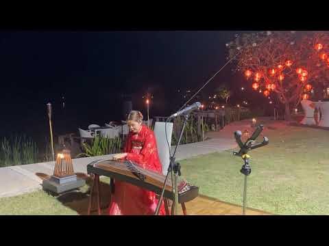 2Live Guzheng music in    special dinner Chinese Lantern Festival2021@Banyan Tree Phuket เทศกาลโคมไฟ