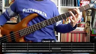 RAMMSTEIN  Du hast (bass cover w/ Tabs)