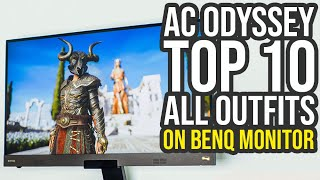 Assassin's Creed Odyssey Outfits Top 10 Review On A BenQ EX2780Q (AC Odyssey Outfits)