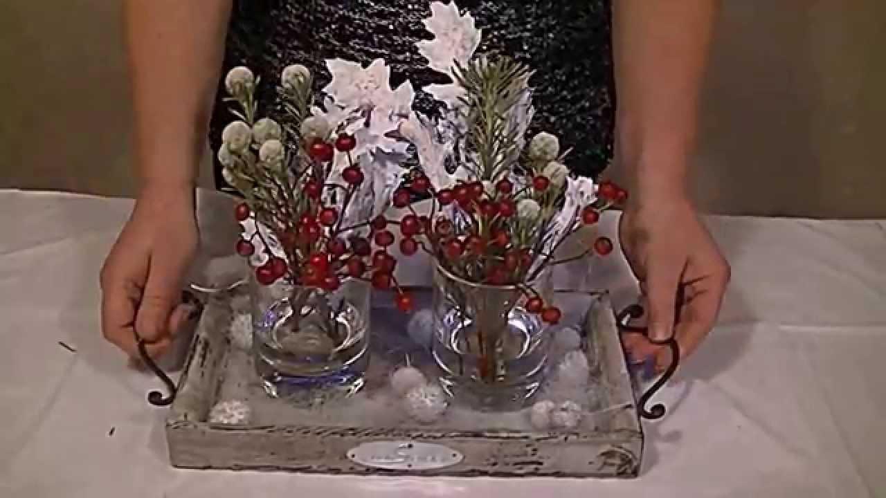 Diy leuk stukje voor op tafel als decoratie!   youtube