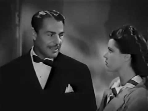 Nightmare (1942) Film Noir / Saturday Night Movies /  Diana Barrymore Brian Donlevy