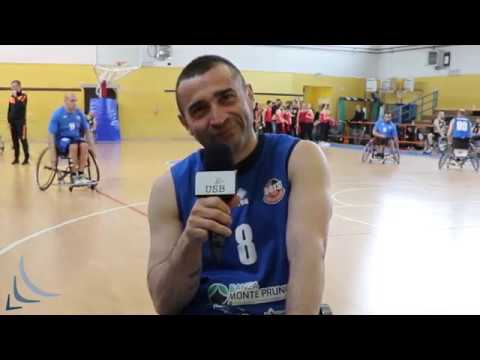 Basket in carrozzellaIntervista a Michele Saracino...