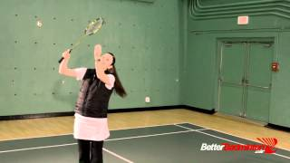 Badminton Champion Secret - How Do I Make My Smash Land Closer to the Net?