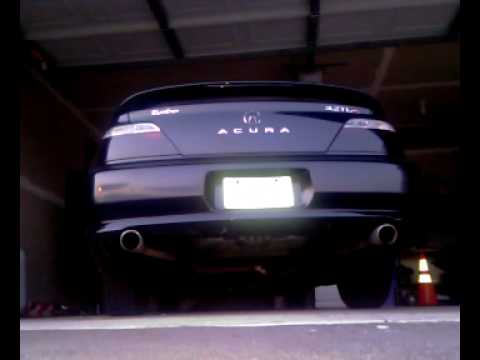 Acura Tl Type S Custom Exhaust YouTube - Acura cl type s performance parts