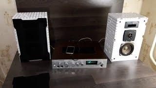 Прослушка  акустической системы  в новых корпусах!