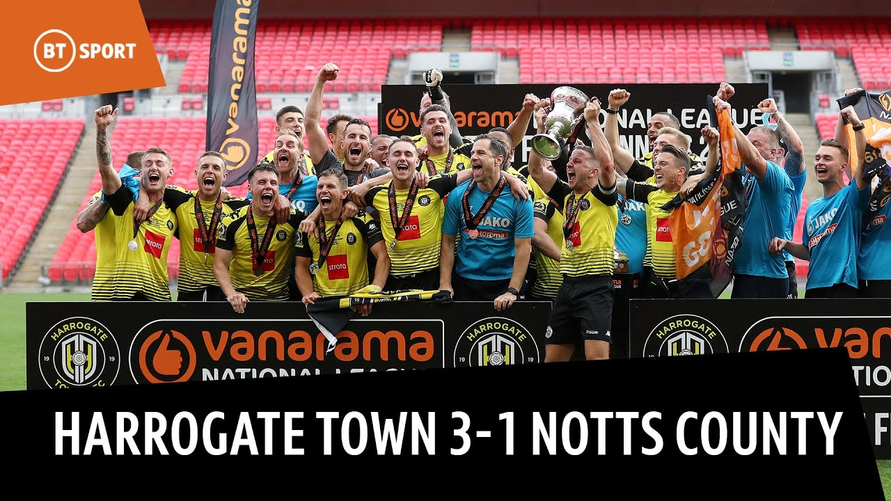 Harrogate Town vs. Notts County (3-1) | National League Play-off Final