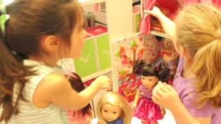 AMERICAN GIRL SHOPPING AT STORE GRAND OPENING   beingmommywithstyle