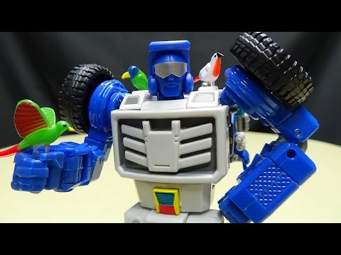 X-Transbots ARKOSE (Masterpiece Beachcomber): EmGo's Transformers Reviews N' Stuff
