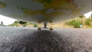 Longboarding In Camas, Wa