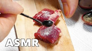 ASMR Mini Kitchen - Steak & Asparagus | Relaxing & Satisfying