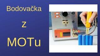 Bodovačka z MOTu na páskové vývody akumulátorů