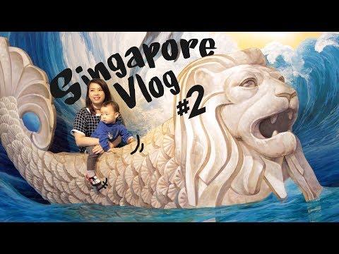 BEST PHOTO SPOT dan MAKAN DURIAN YG BIJINYA BISA DITELAN [ Singapore Vlog #2 ]