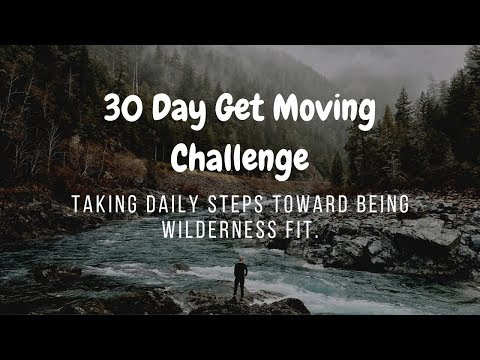 30 Day Get Moving Challenge Day-1
