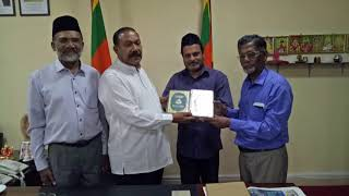 Quran translation gifted to Education Minister