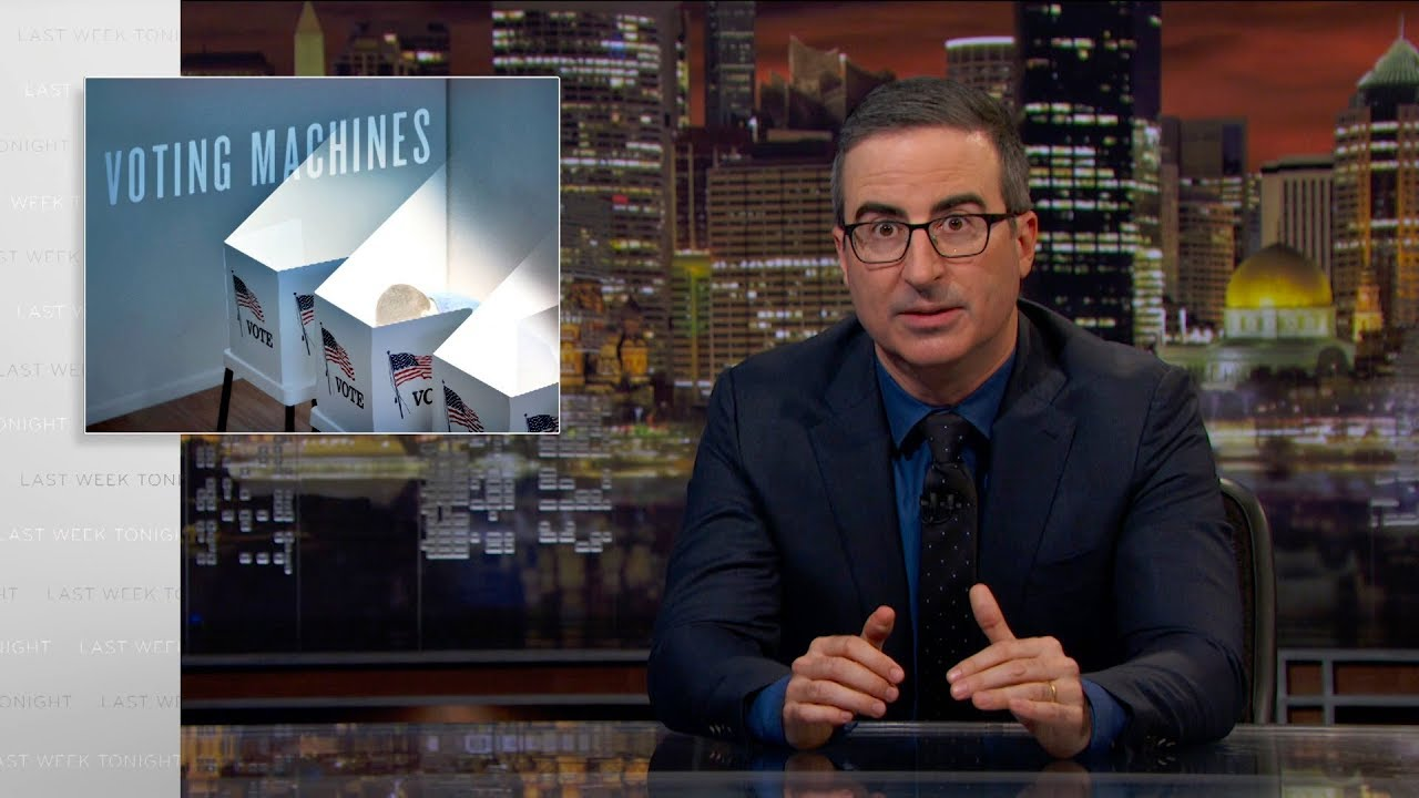 Download Voting Machines: Last Week Tonight with John Oliver (HBO)