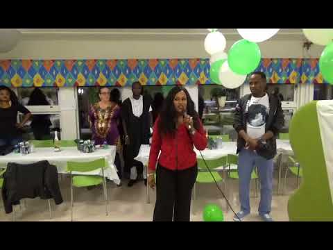 Nigerians in Northern Sweden first Independence party.[frankjosephtv