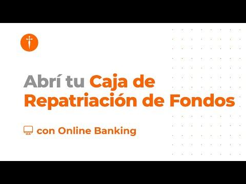 #Tutorial Cómo Abrir La Caja De Ahorro Repatriación De Fondos Por Online Banking
