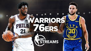 Warriors vs. 76ers | Will Steph Curry continue his hot streak? | Hoop Streams