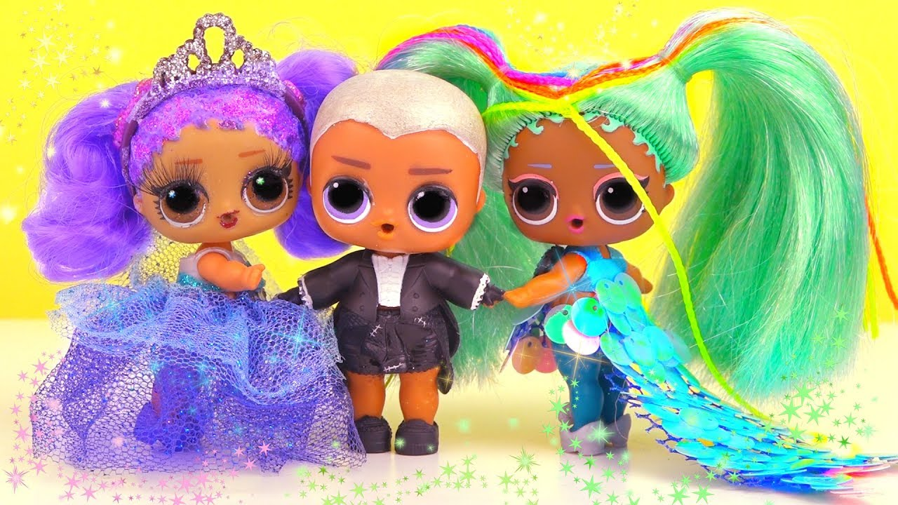 Рэйнбоу В ШОКЕ! Витчи и Мария стали жених и невеста! Мультик куклы лол сюрприз LOL dolls