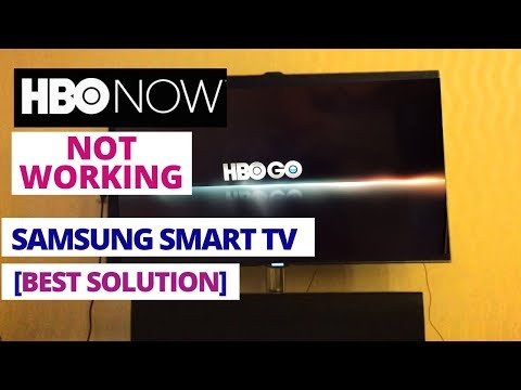 How To Fix HBO GO Not Working On Samsung Smart TV || HBO GO Stopped Sorking On Samsung TV
