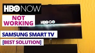 How to Fix HBO NOW Not working on Samsung smart TV || 10 Common HBO Now Problems & Fixes