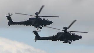 RIAT 2015 The Apache AH-Mk.1 British Army