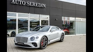 !!! FIRST EDITION !!! Bentley Continental GT + Soundcheck | AUTO SEREDIN GERMANY