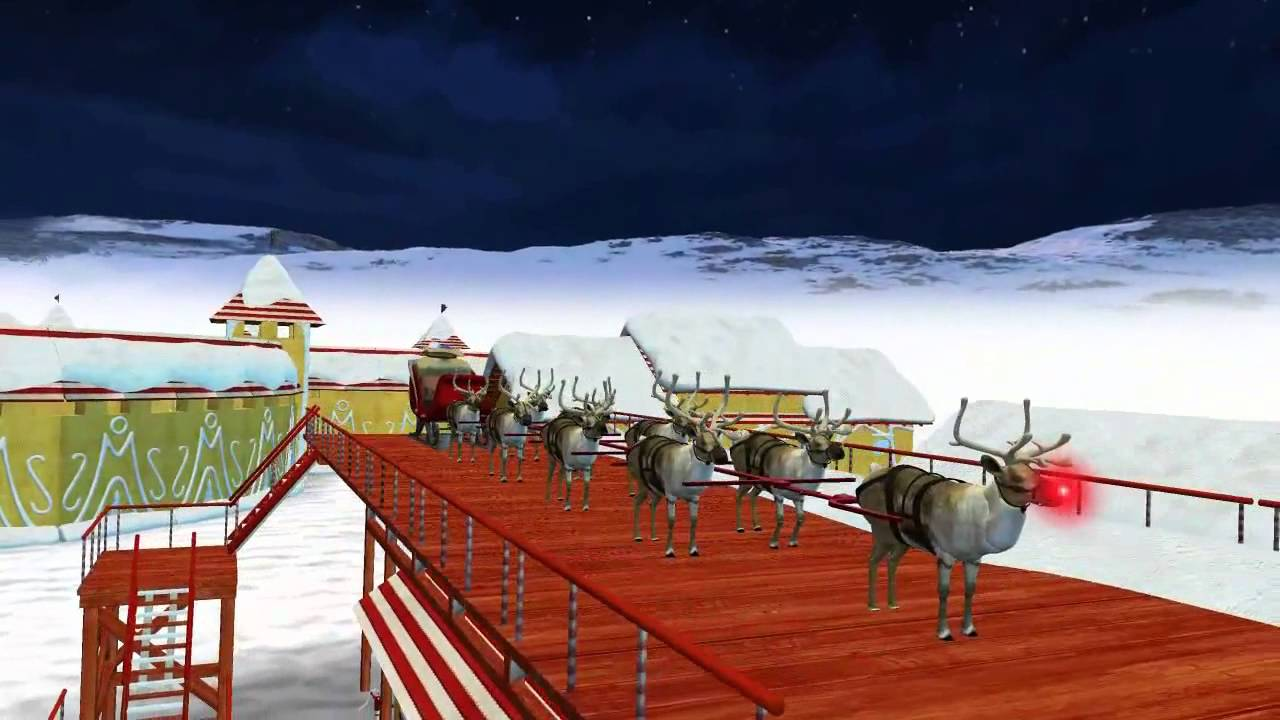 norad tracks santa 2013 north pole youtube - Santa And The North Pole