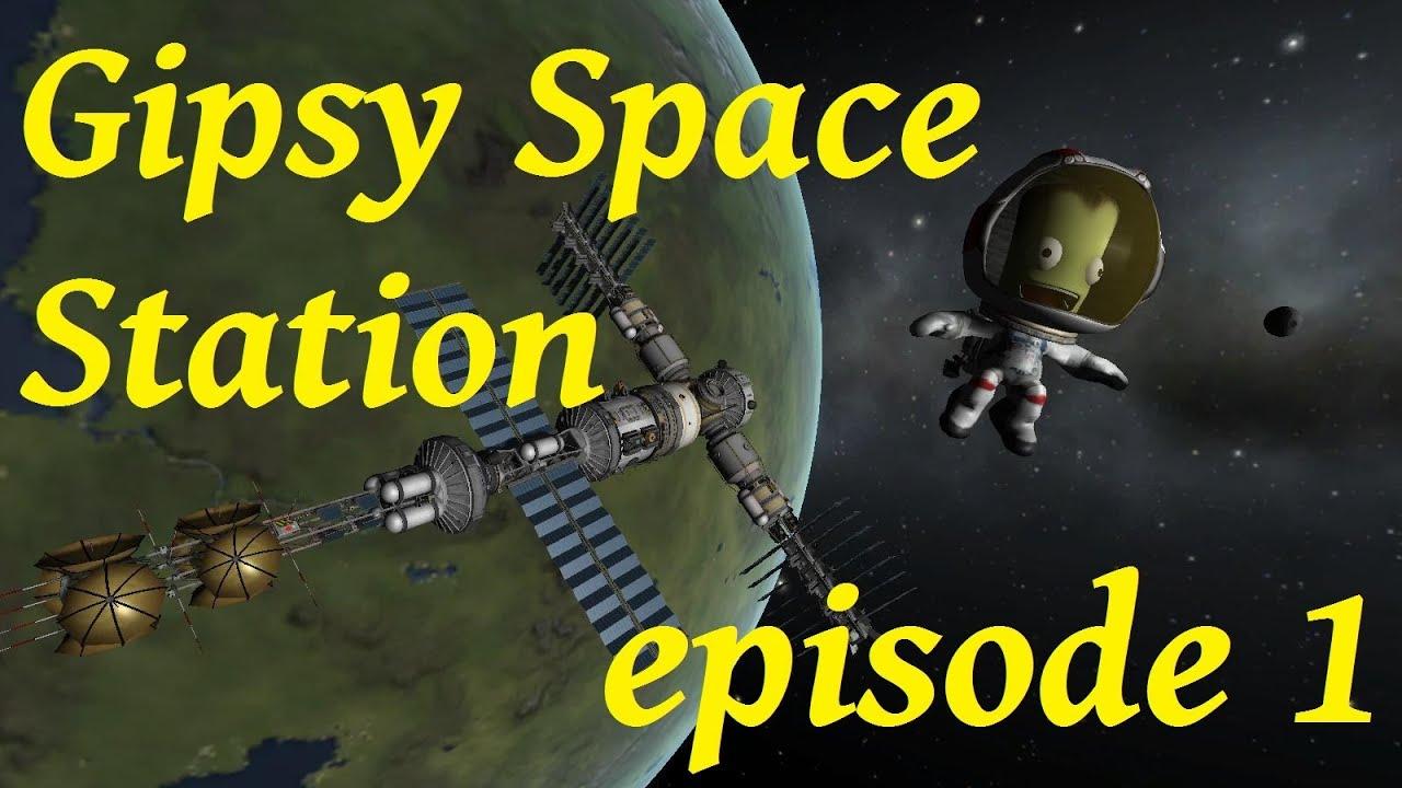 KSP: GipsyDanger Space Station, premier module