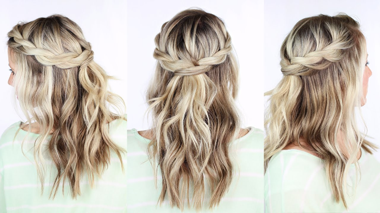 Twisted Crown Braid Youtube