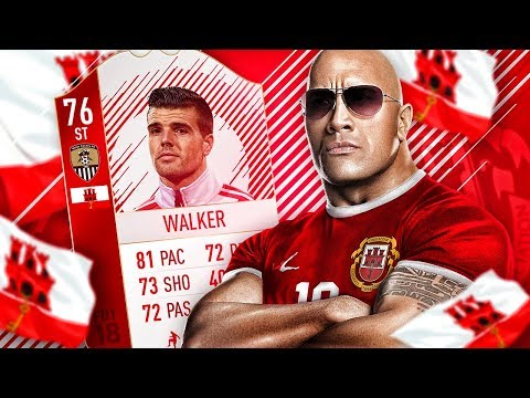 OMG THIS CARD MADE HISTORY! THE FIRST EVER GIBRALTAR INFORM! FIFA 18 ULTIMATE TEAM