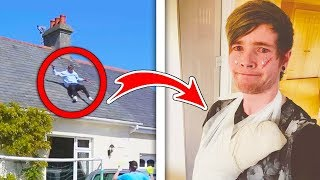 5 ACCIDENTAL Injuries In YouTube Videos! (DanTDM, MrBeast, PopularMMOs, GuavaJuice, W2S)