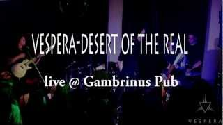 VESPERA - Desert of the real (live @ Gambrinus Cluj)