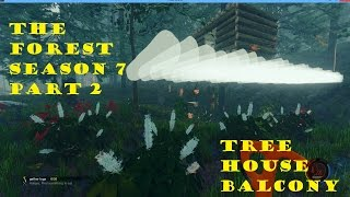 The Forest Gameplay V0 07 S7p2   Tree House Balcony