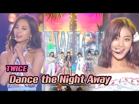 [Korean Music Wave]  TWICE - Dance The Night Away, 트와이스 - Dance The Night Away, DMC Festival 2018