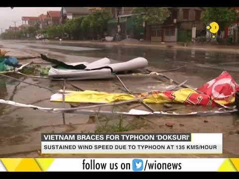 Doksuri most powerful typhoon to hit Vietnam in several years