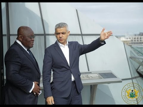 President Akufo-Addo at Ghana-UK Chamber of Commerce