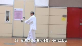 太極功夫扇背向 (2013.08.25)