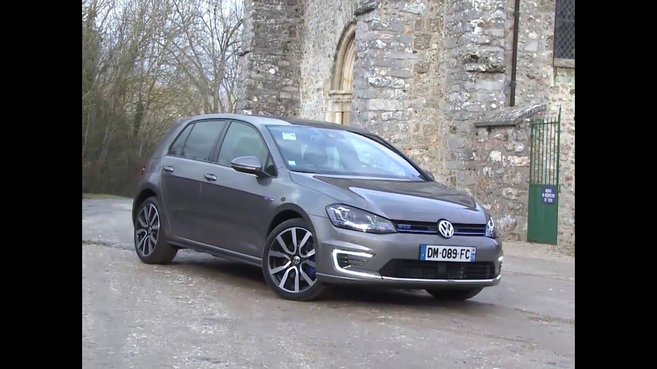 Essai Volkswagen Golf GTE 2015 - YouTube