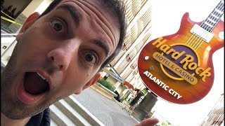 🔴FIRST Live Stream EVER from HARD ROCK Casino in Atlantic City! Watch Brian play Slots!
