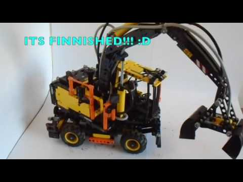 lego technic 42053 volvo ew160e speed build and review. Black Bedroom Furniture Sets. Home Design Ideas