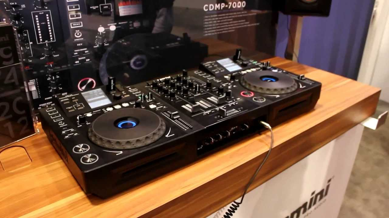 gemini cdmp 7000 namm 2012 quick look and overview youtube